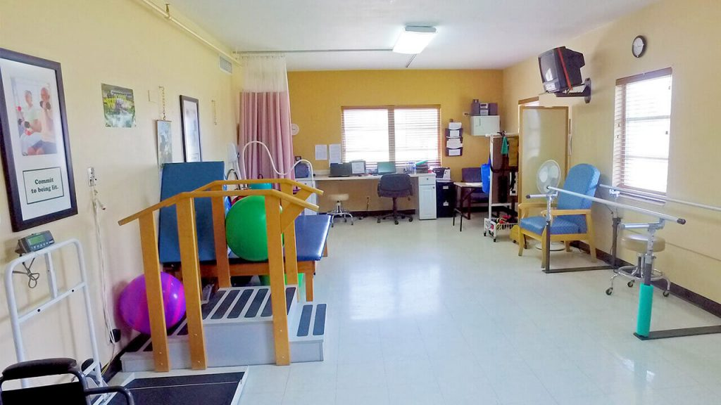 south-heritage-physical-therapy-room